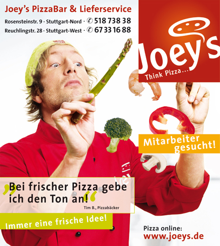 Joeys Pizza Service S-West, Inh: Marc Rohling