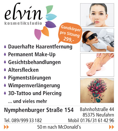 Elvin Kosmetik & Tattoo Studio UG