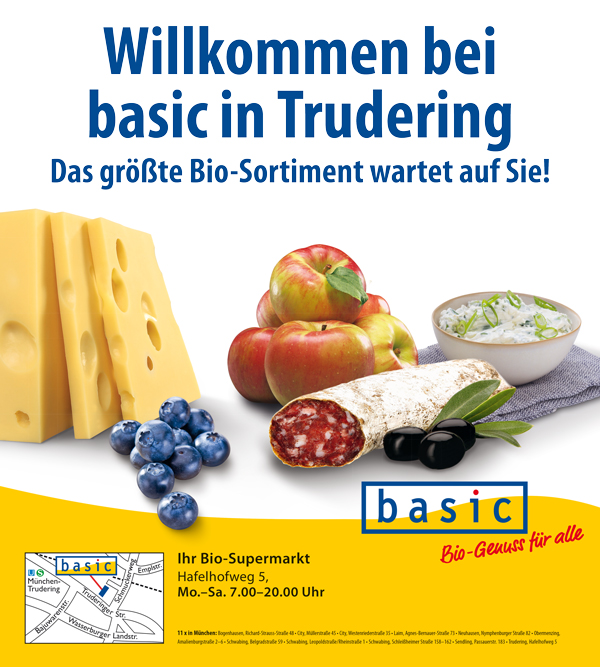 basic AG - Bio-Supermarkt